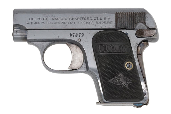 Colt 1908 Vest Pocket 25ACP SN:57879 MFG:1911