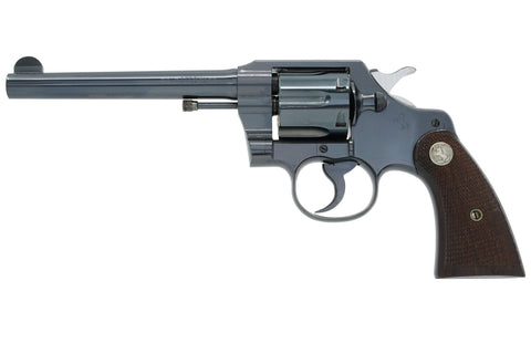 "Colt Official Police 6"" 38 Special SN:587753 MFG:1934"