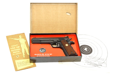 COLT GOLD CUP NATIONAL MATCH .38 SPECIAL MID-RANGE SN:6047-MR MFG:1970