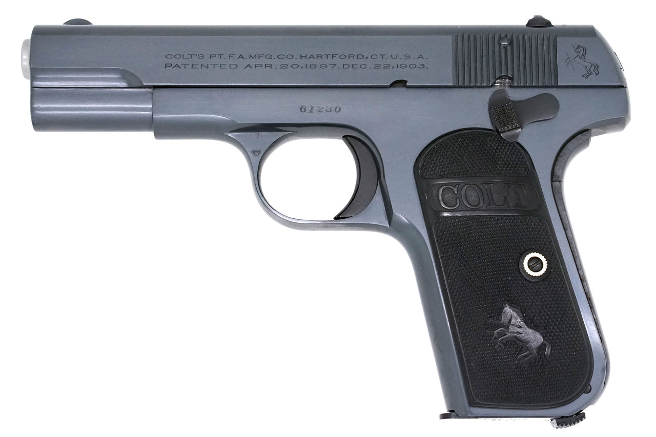 Colt 1908 Pocket Hammerless 380ACP SN:61230 MFG:1921