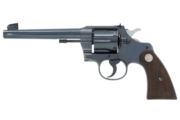 "Colt Officers Model Target 6"" 38 Special SN:620491 MFG:1937"