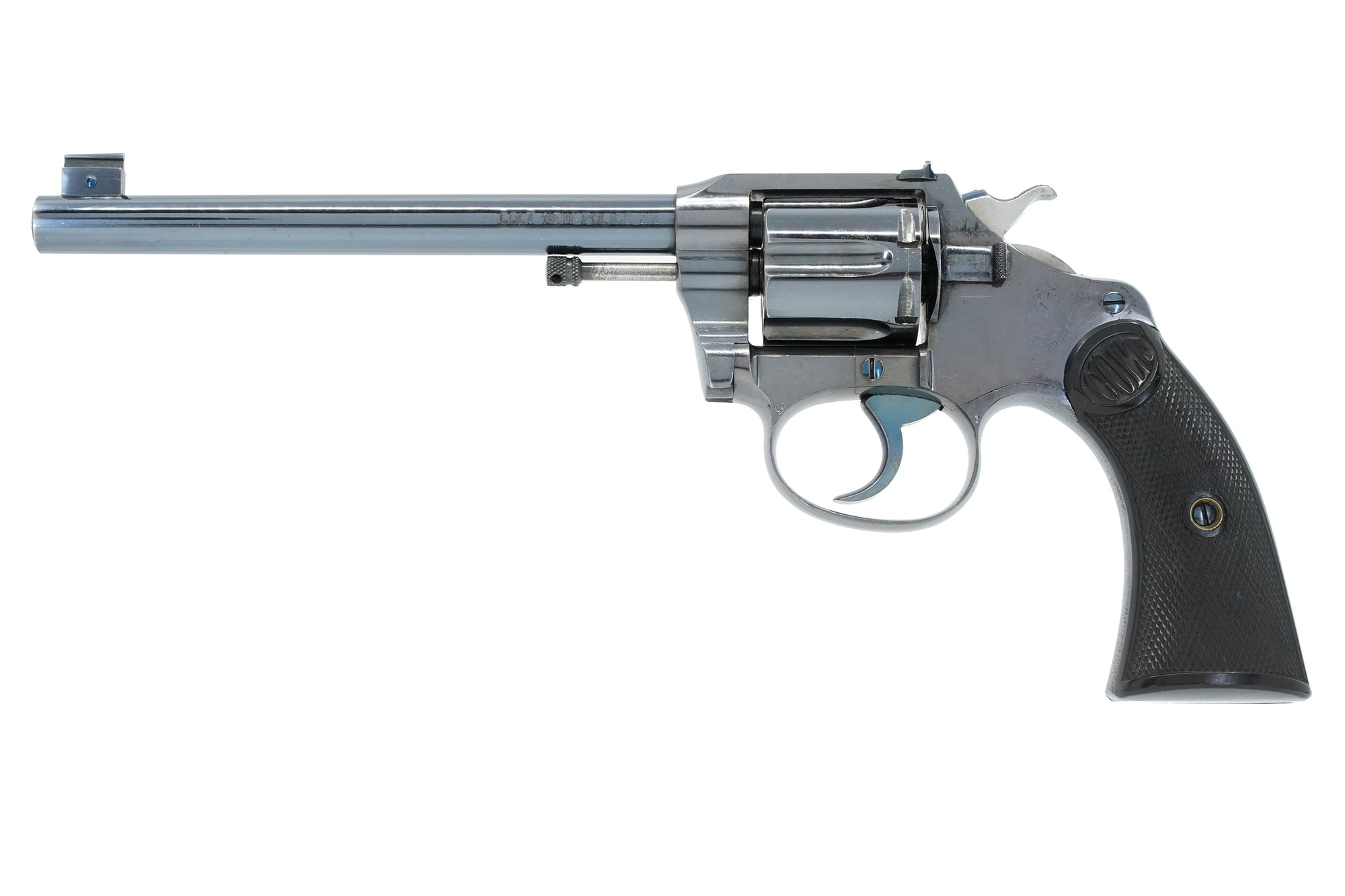 "Colt Police Positive Target 32 Police 6"" SN:64539 MFG:1908 - New Police Transitional"