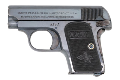 Colt 1908 Vest Pocket 25ACP SN:6501 MFG:1909