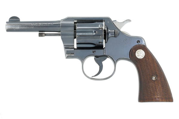 "Colt Official Police 4"" 38 SN:700500 MFG:1942 - War Department"