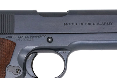 Colt M1911 45ACP SN:701935 MFG:1924 Transition Model