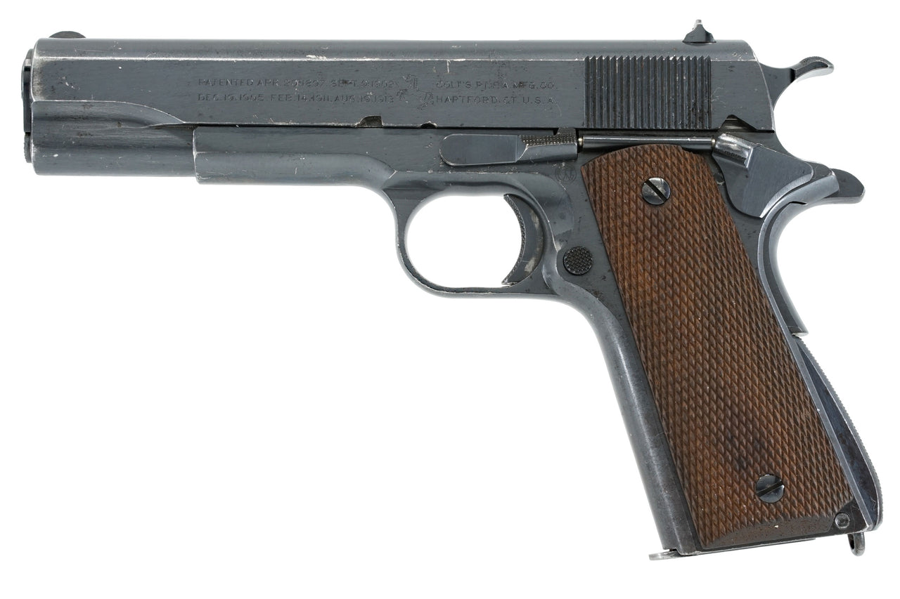 COLT M1911 45ACP SN:705387 MFG:1924 TRANSITION MODEL