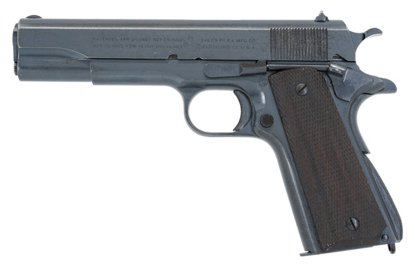 Colt M1911 45ACP SN:708214 MFG:1924 Transition Model