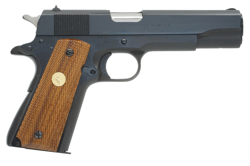 Colt Government Model Series 70 9mm Steyr SN:70S5022 MFG:1985