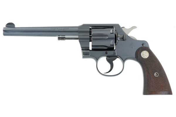 "Colt Official Police 6"" 38 Special SN:712290 MFG:1942"