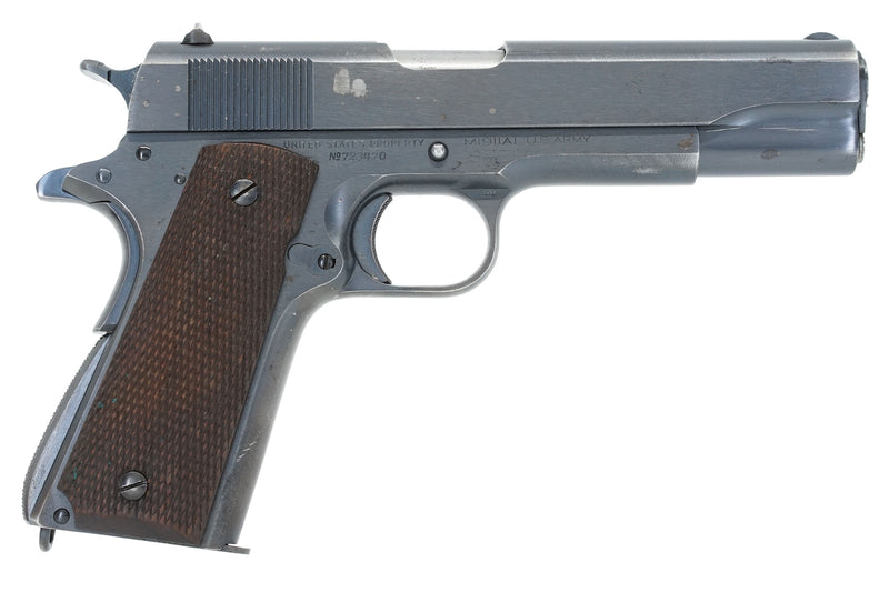 Colt M1911A1 45ACP SN:726470 MFG:1941 - Dual Inspected