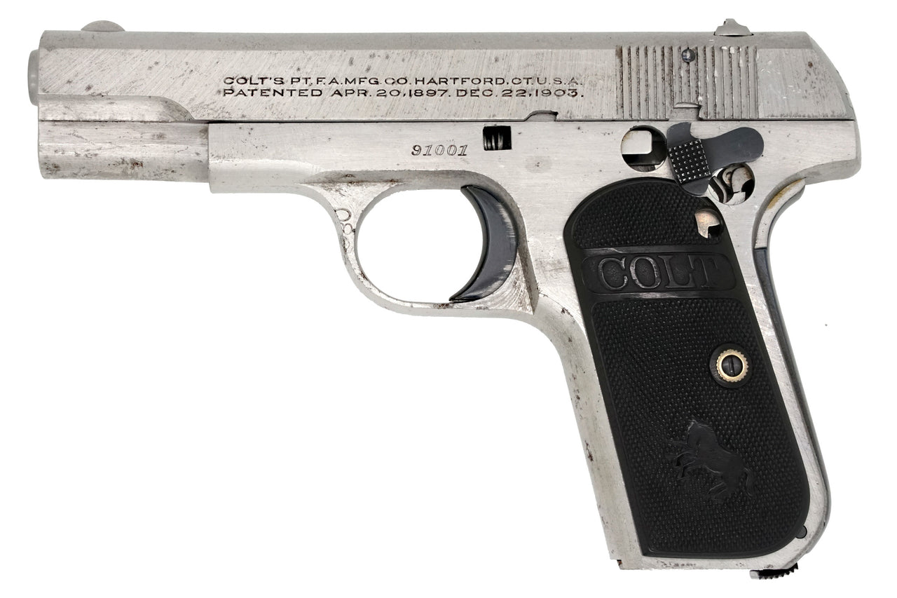 Colt 1908 Pocket Hammerless 380ACP SN:91001 MFG:1926 Factory Cut-Away