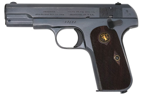 Colt 1903 Pocket Hammerless 32ACP SN:91682 MFG:1909
