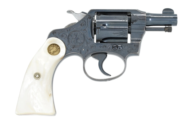 Colt Police Positive 32 SN:92838 MFG:1926 - Factory Engraved