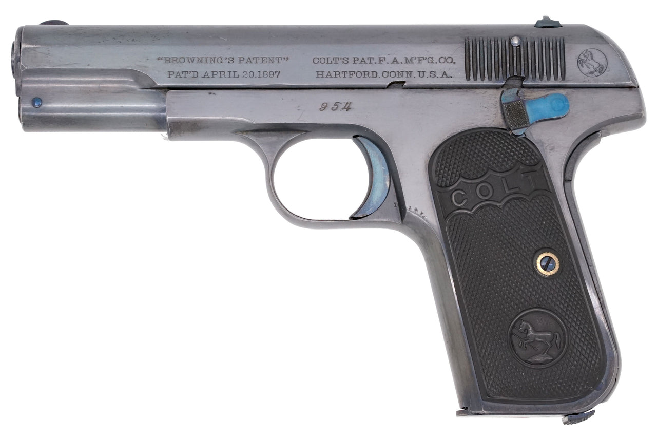Colt 1903 Pocket Hammerless 32ACP SN:954 MFG:1903