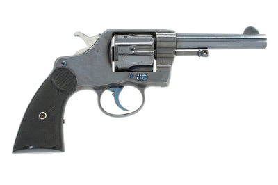 "Colt New Navy Revolver Model of 1895 .38/c 4-1/2"" SN:96312 MFG:1898"