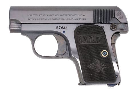 Colt 1908 Vest Pocket 25ACP SN:97033 MFG:1913