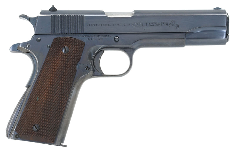 Colt National Match 45ACP SN:C182304 MFG:1936 - Factory Inscribed