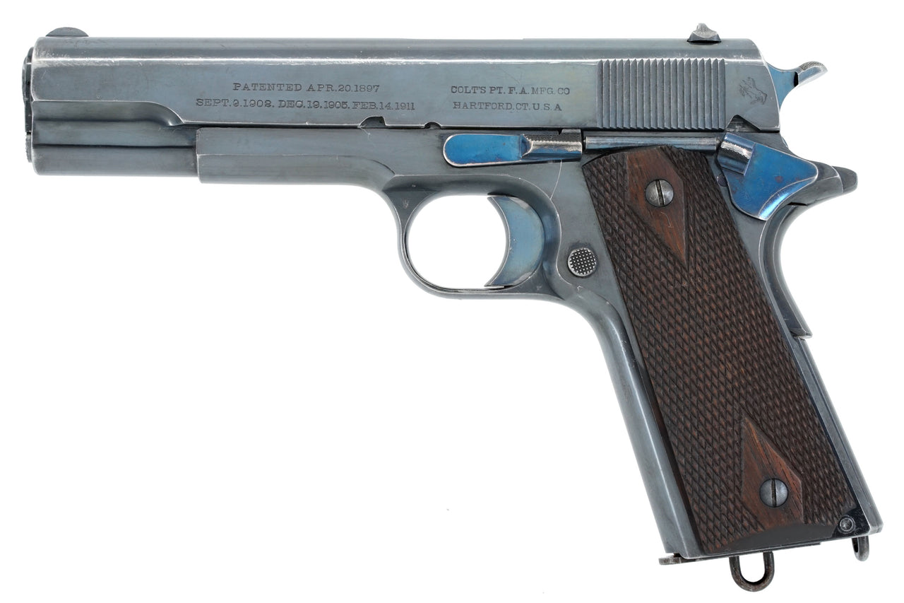 Colt Government Model 45ACP SN:C2706 MFG:1913 - Military/Commerical