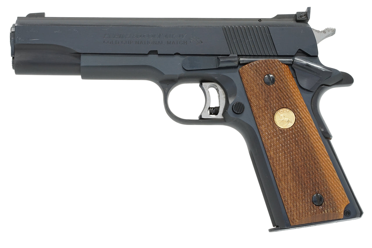 Colt Gold Cup National Match Series 80 45ACP SN:FN25027 MFG:1987
