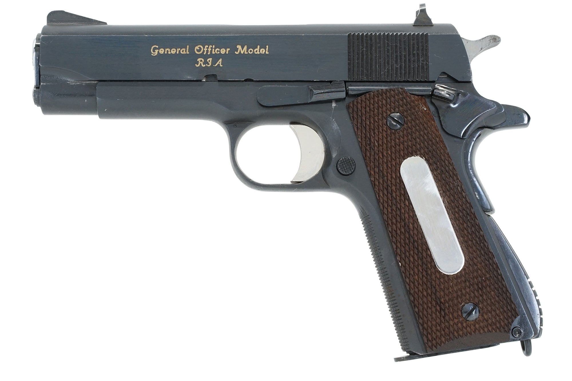 Rock Island Arsenal M15 General Officer Model 45ACP SN:GO 270 James T. Tuberty