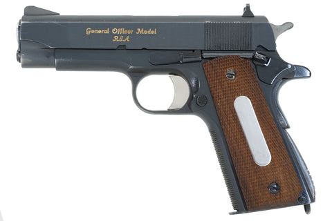 Rock Island Arsenal M15 General Officer Model 45ACP SN:GO 528 BG Joseph D. Fiato Jr.