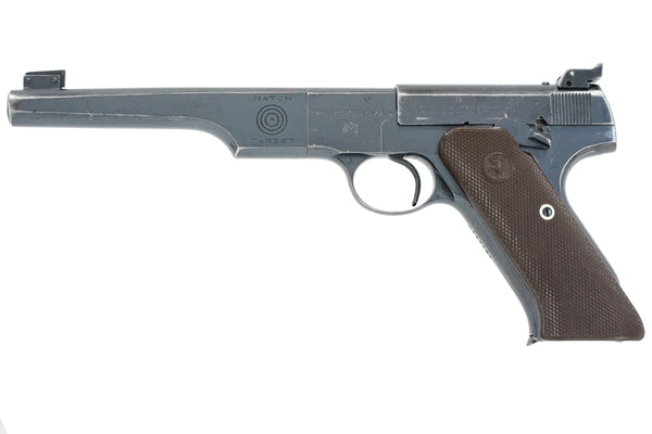 "Colt Woodsman Match Target 6-5/8"" 22LR SN:MT13725 MFG:1943 NAVY"