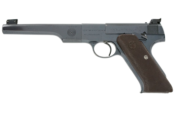 "Colt Woodsman Match Target 6-5/8"" 22LR SN:MT14729 MFG:1943 NAVY"
