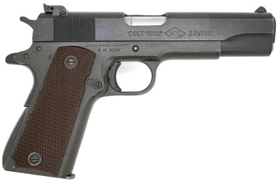 Colt Service Model Ace 22LR SN:SM5799 MFG:1945 Navy