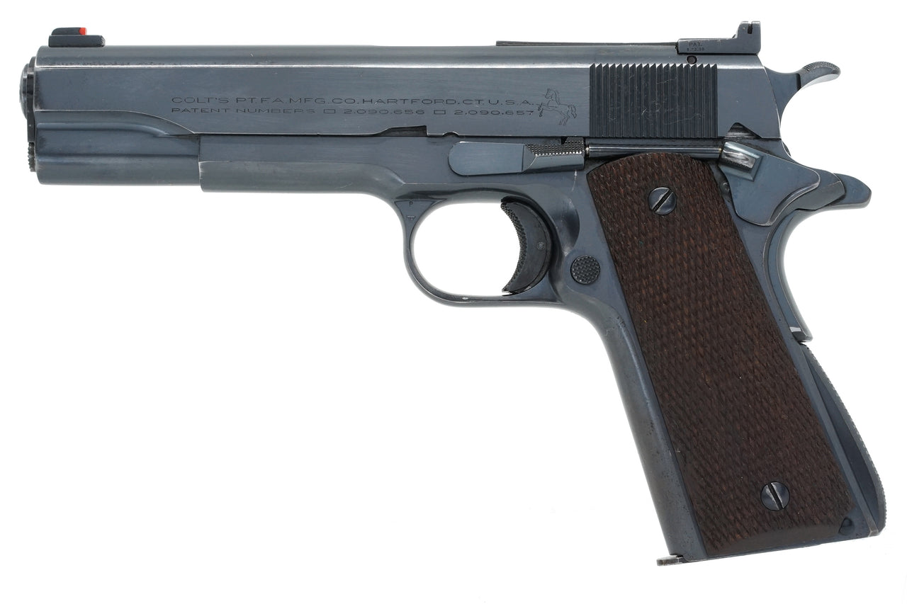Colt Service Model Ace 22LR SN:SM738 MFG:1938 - KING