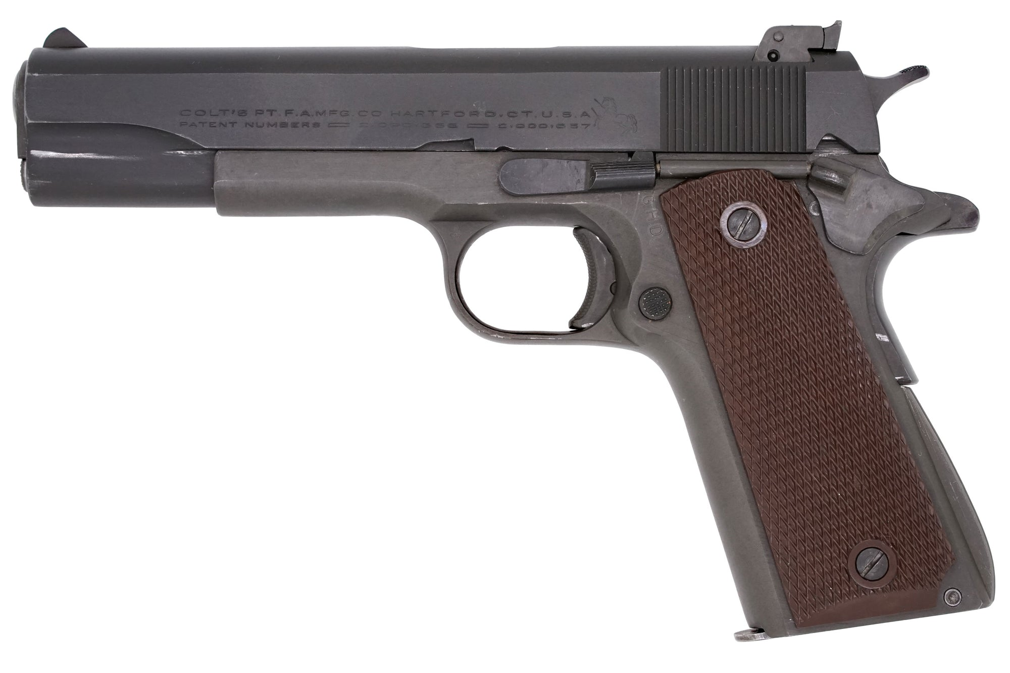 Colt Service Model Ace 22LR SN:SM8489 MFG:1945 Navy
