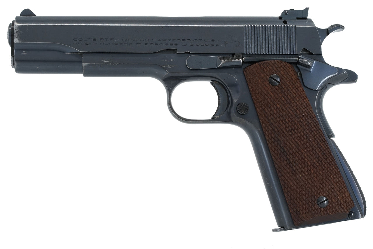 Colt Service Model Ace 22LR SN:SM854 MFG:1938 Field Artillery