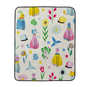 Butter Kings picnic blanket