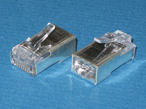 100020 CatMaster Shielded RJ45 Plug for Category 5e Cable