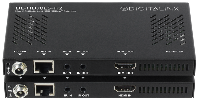 Digitalinx HDMI 2.0 HDBaseT Extension Set - DL-HD70LS-H2