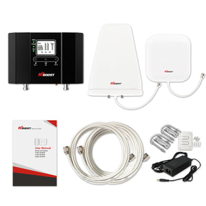 HiBoost 10K Smart Link Cell Phone Signal Booster Kit