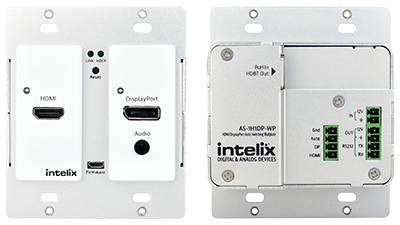 Intelix HDMI/DisplayPort Auto-Switching Wallplate
