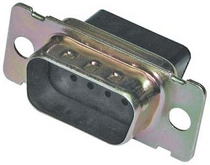 CD-9809M Crimp and Poke 9 pin D-SUB jack housing Crimp Style Connector System