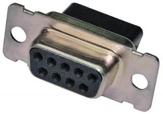 CD-9809S Crimp and Poke D-SUB jack housing Crimp Style Connector System