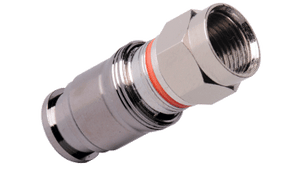 CM-RG6L-F C-Tec2 RG6 F Plugs for non-Plenum Single, Dual, Tri or Quad Shield formats