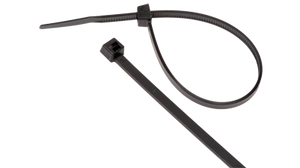 CT-UV-8 Cable Tie black UV Resistant for indoor/outdoor use 8""