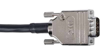 D-VGAM-M-35 35' Liberty Manufactured Plenum rated VGA male to male cable for RGBHV