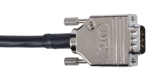 D-VGAM-M-100 100' Liberty Manufactured Plenum rated VGA male to male cable for RGBHV