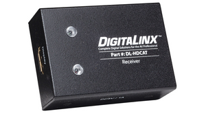 DL-HDCAT-R HDMI OVER DUAL TWISTED-PAIR RECEIVER WITH POWER SUPPLY