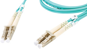DMM10LCLC-010M 33' Duplex Fiber Optic Patch cable OM3 Laser Optimized Multimode LC-LC