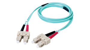 DMM10SCSC-001M 3.3' Duplex Fiber Optic Patch cable OM3 Laser Optimized Multimode SC-SC