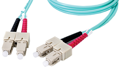 DMM10SCSC-002M 6.6' Duplex Fiber Optic Patch cable OM3 Laser Optimized Multimode SC-SC