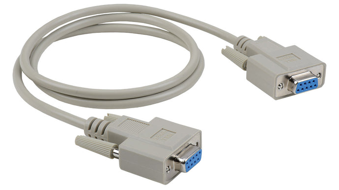 E-DB9F-F-NULL-10 10' D-SUB DB9 female to female null modem cable