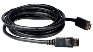 E-DPM-HDM-06F 6' Display Port to HDMI Molded AWM rated interconnection cables