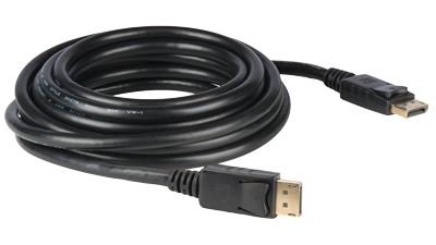 E-DPM-M-06F 6' Display Port Molded AWM rated interconnection cables