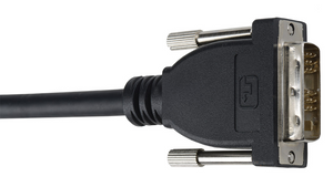 E-DVIDSL-2 6' Liberty Premium Molded DVI Digital Single Link cable
